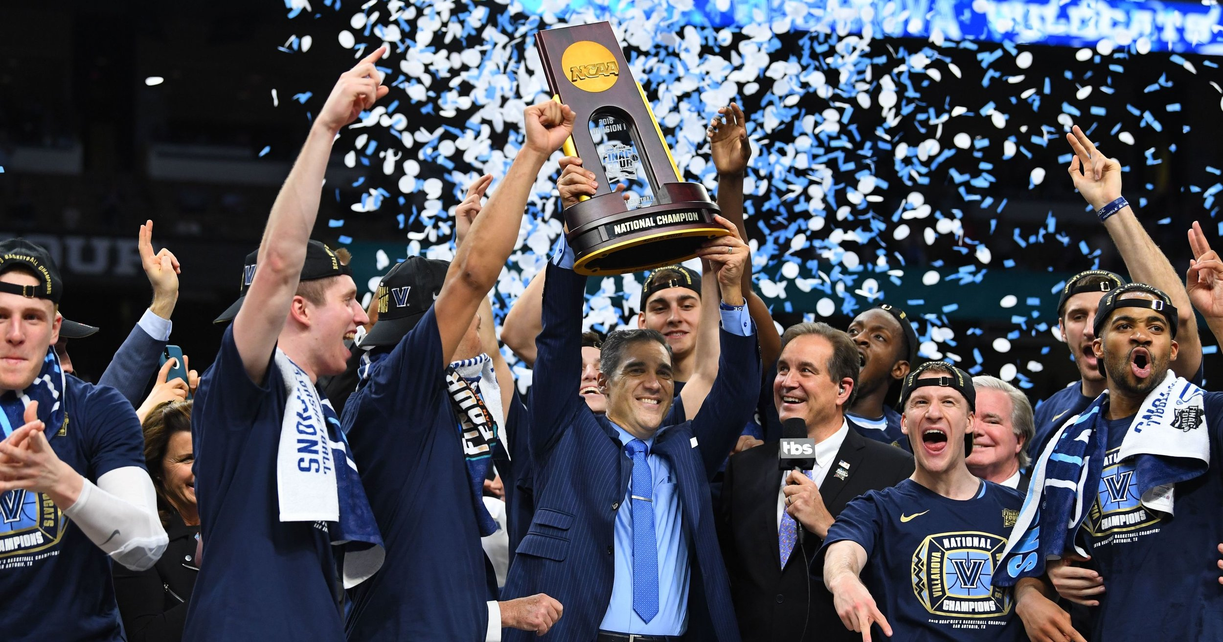 The Villanova Wildcats, 2018's Champion / Photo: USA Today