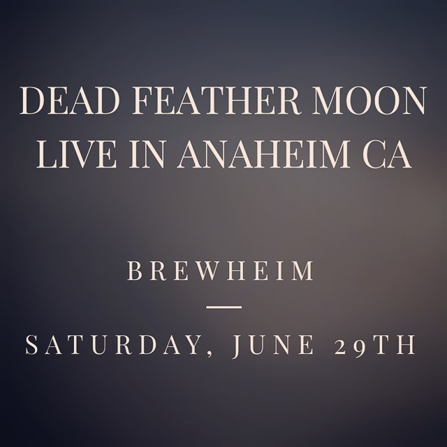 Dead Feather Moon will be performing at @brewheim on Saturday, June 29th. Summer kickoff party!