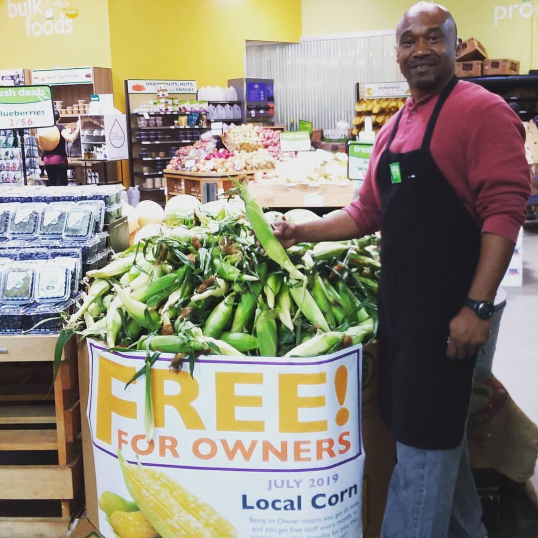 All through the month of July, sweet corn is FREE for members! Sourced from…you guessed it! Farmer Foodshare!