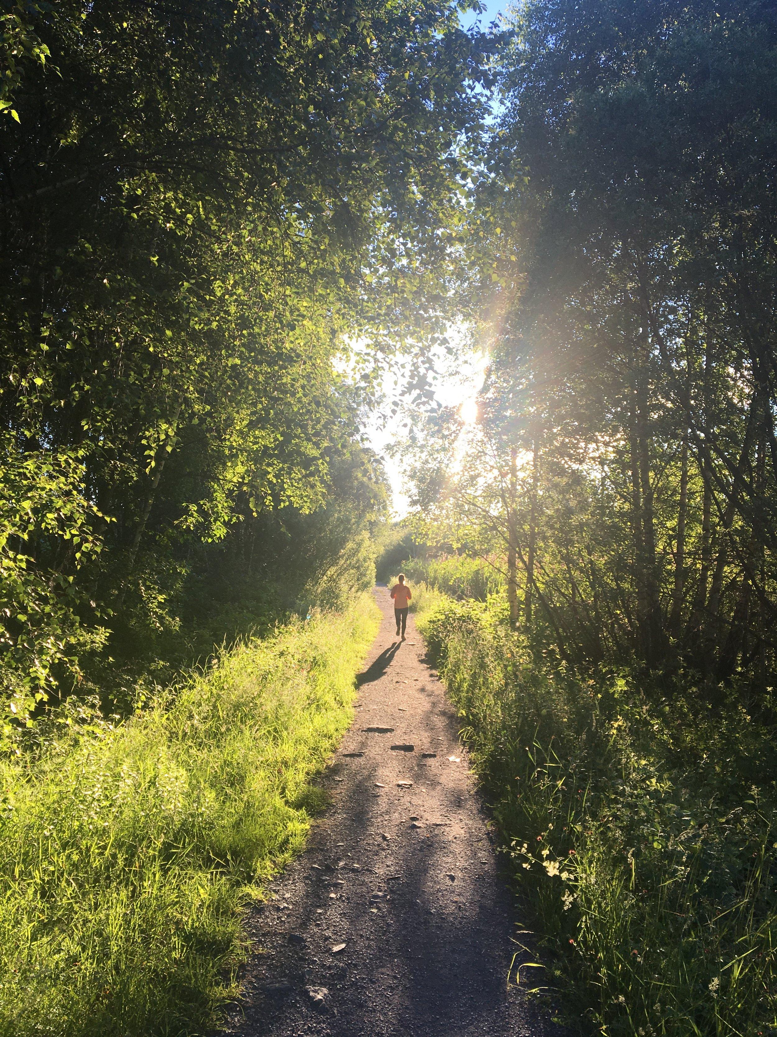 Running at Fornebu
