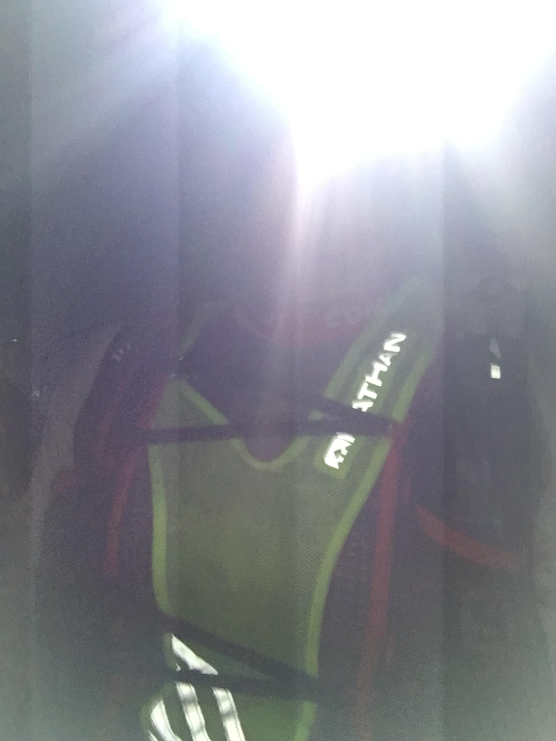 Obligatorisk løpe-om-natten-med-hodelykt-selfie.