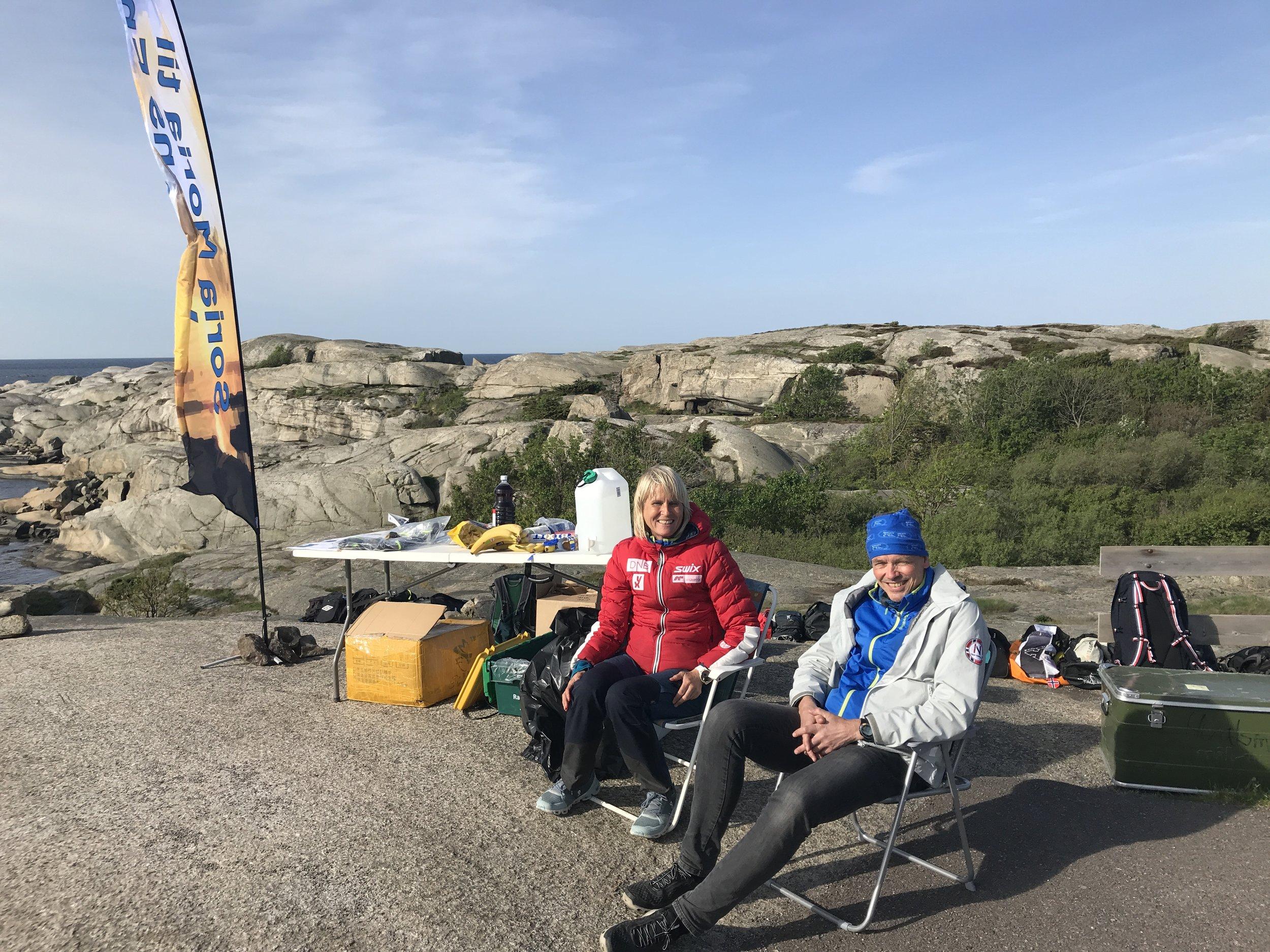 Foto: Rannveig Oseberg  Mona og Einar har godt grep om Langt og Lenges ultraløp, både Soria Moria til Verdens Ende og Blefjell Beste kan varmt anbefales