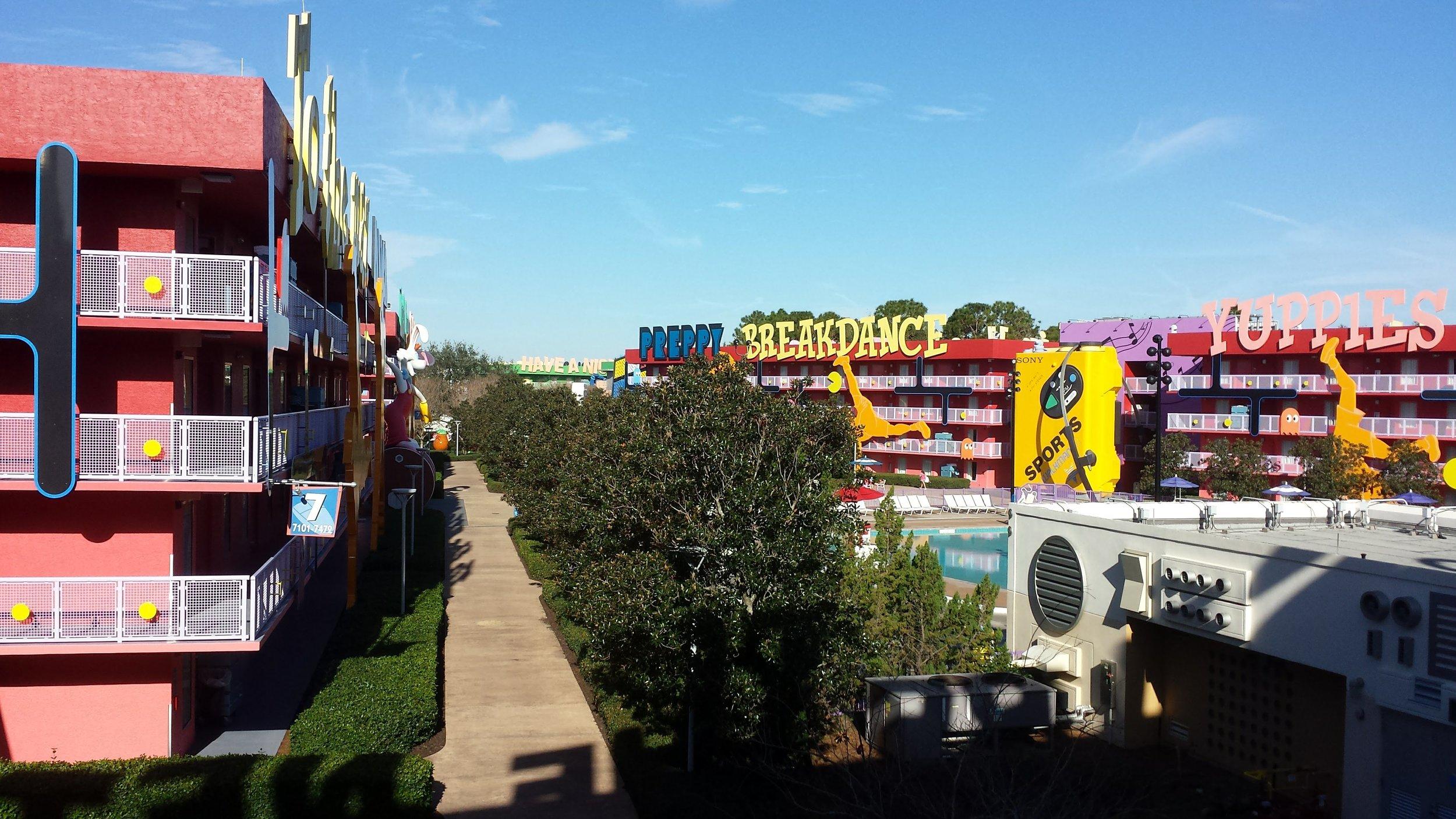 Disney's Pop Century resort.