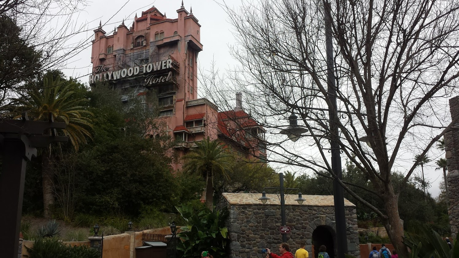 The Tower of Terror attraction in Disney's Hollywood Studios.