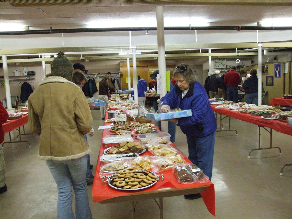 New Glarus Wisconsin St Nicholas Day Cookie Sale