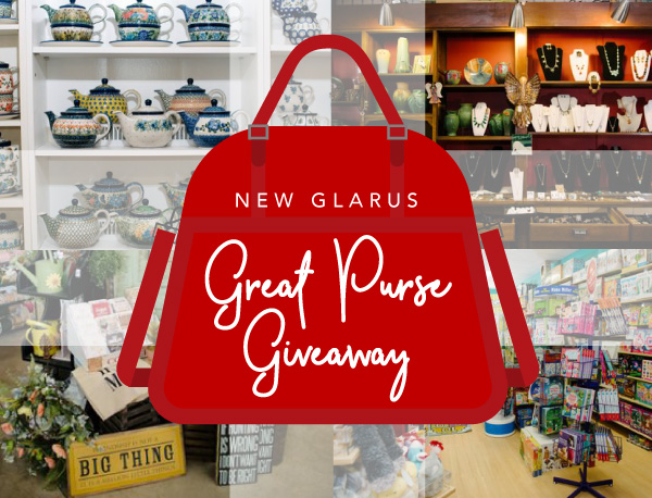 Great Purse Giveaway New Glarus Wisconsin Chamber Promotion