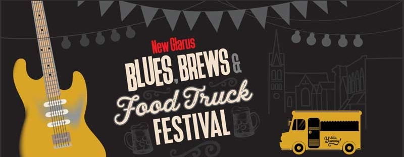 New Glarus, WI, Blues, Brews and Food Truck Festival