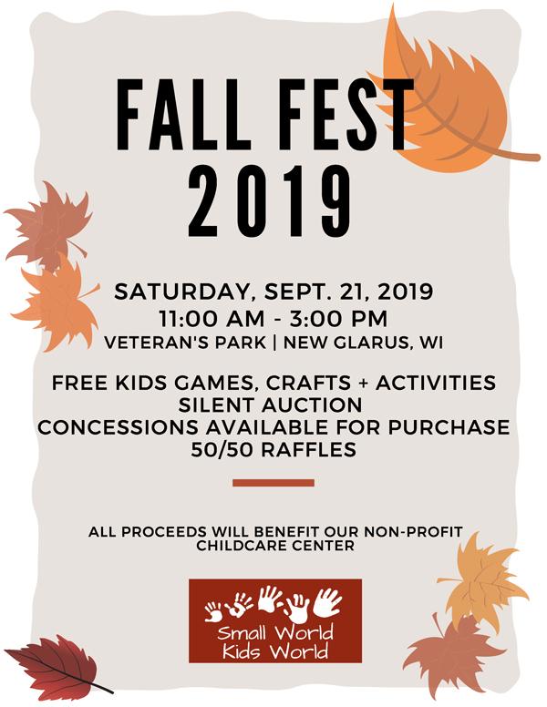 Fall Fest 2019 Small World Childcare Center
