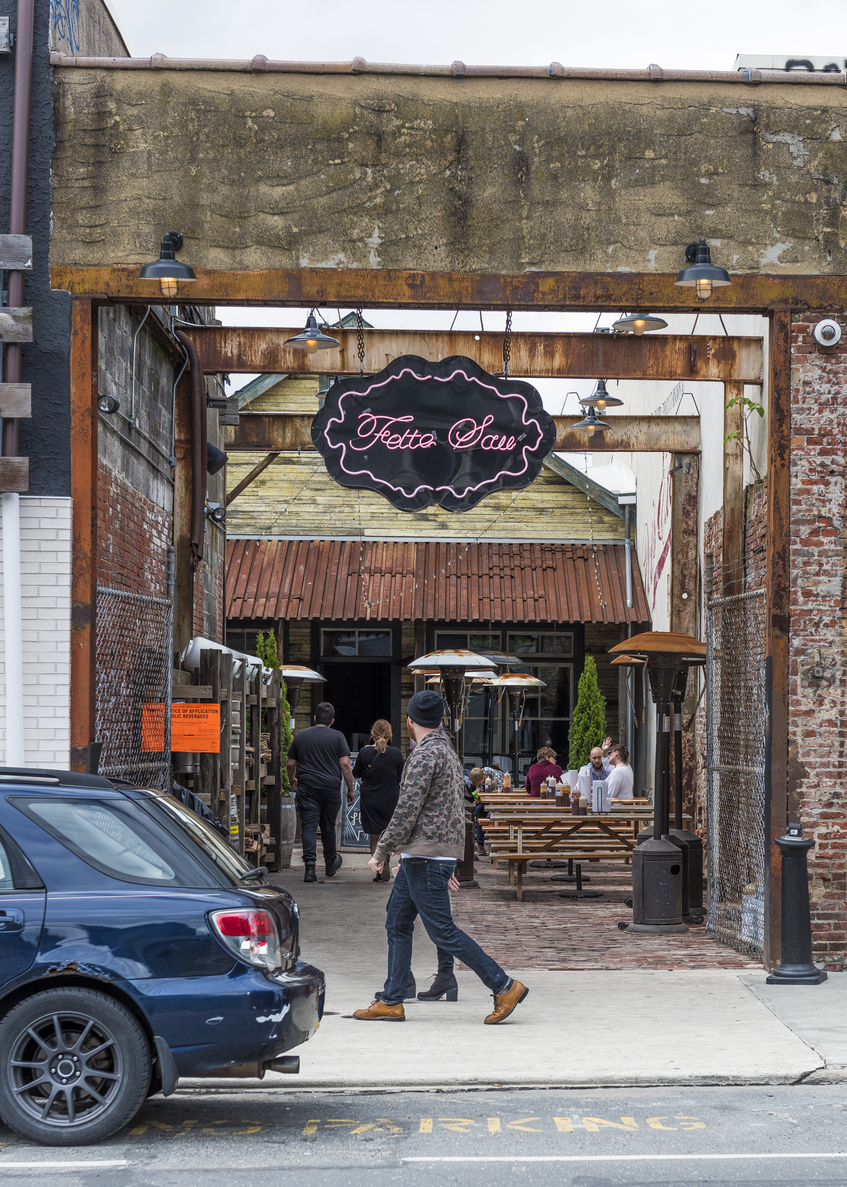 Fette Sau is a BBQ restaurant that has its roots in Brooklyn NY.