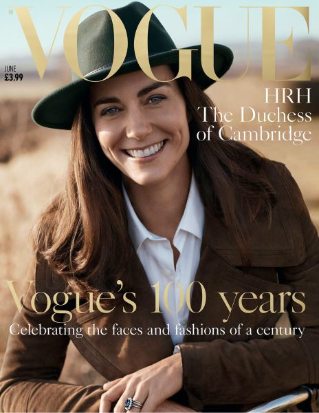 100 years of British Vogue