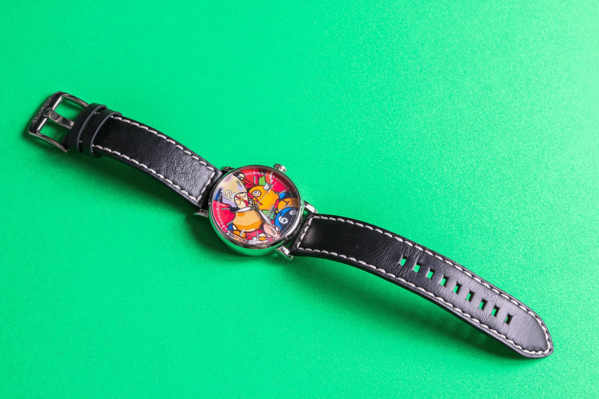 CEET'S Art Watch, photo by me