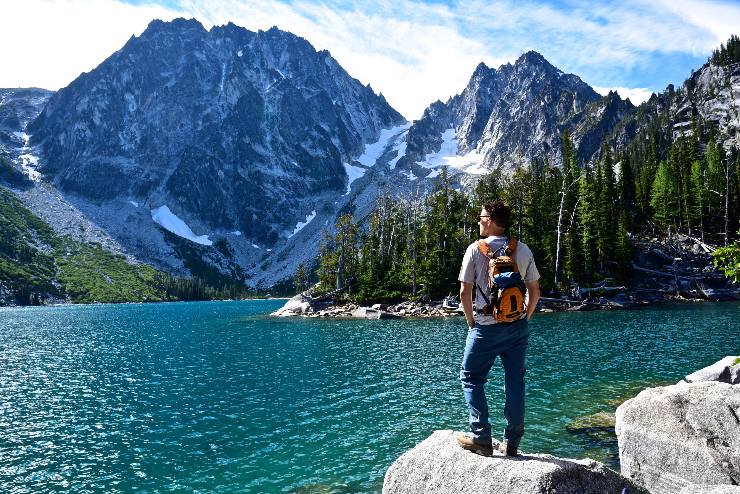 Hike to Colchuck Lake in the Enchantments
