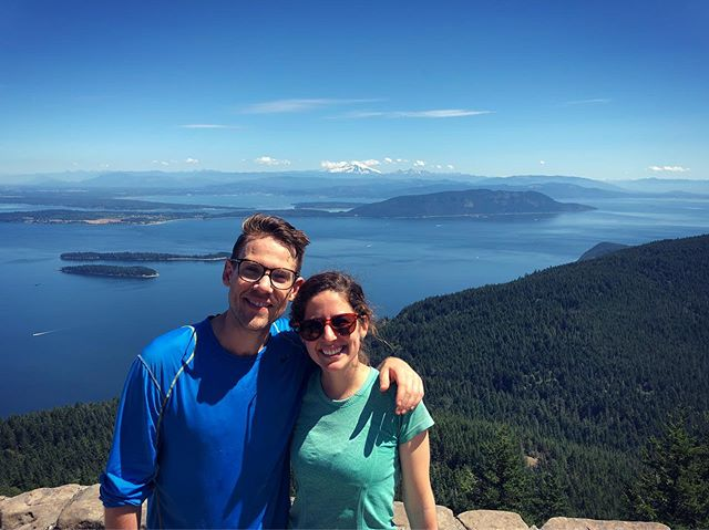Best time on our trip to Orcas Island! Endless activities! Cycled to the top of Mount Constitution, hiked turtle back, kayaked, went crabbing, and ate incredible food! Thanks again Hamill's!!