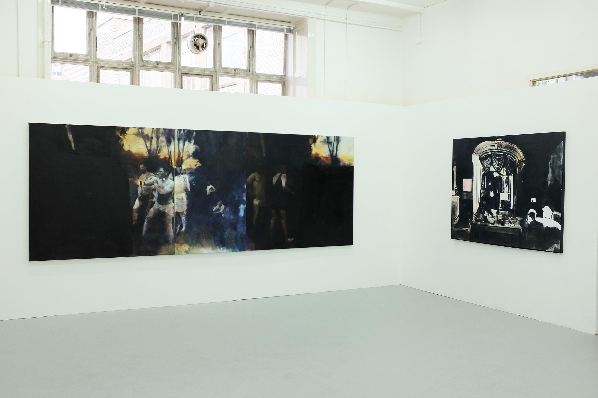 Glasgow School of Art Degree show Install 2016