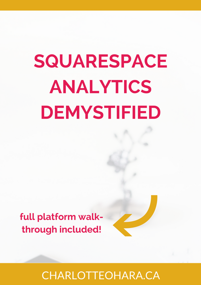 Squarespace Analytics Overview