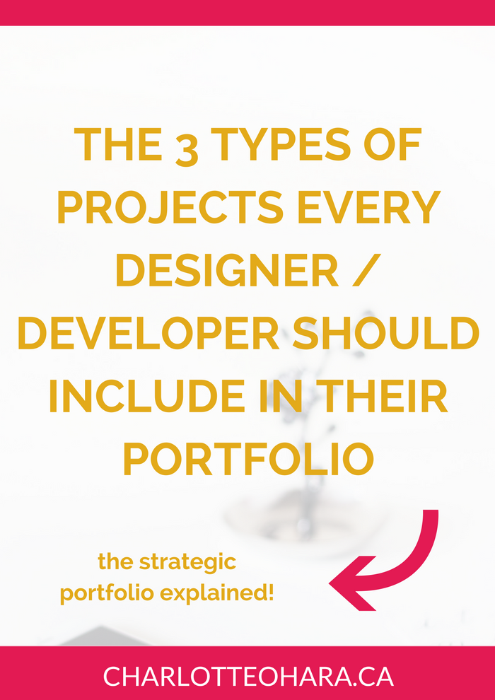 3 projects every web designer / developer should include in their portfolio