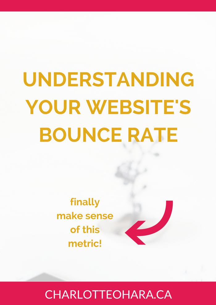 understanding your website's bounce rate