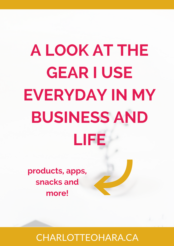 the gear i use everyday in my business and life