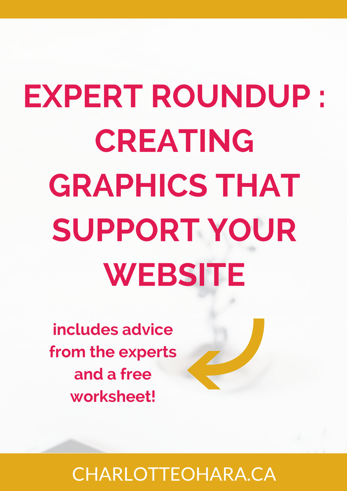 Expert Roundup : creating graphics that support your website