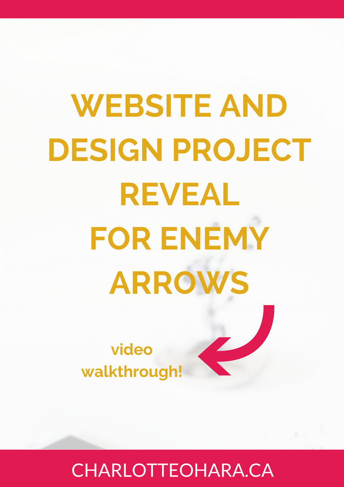 Enemy Arrows Website Reveal
