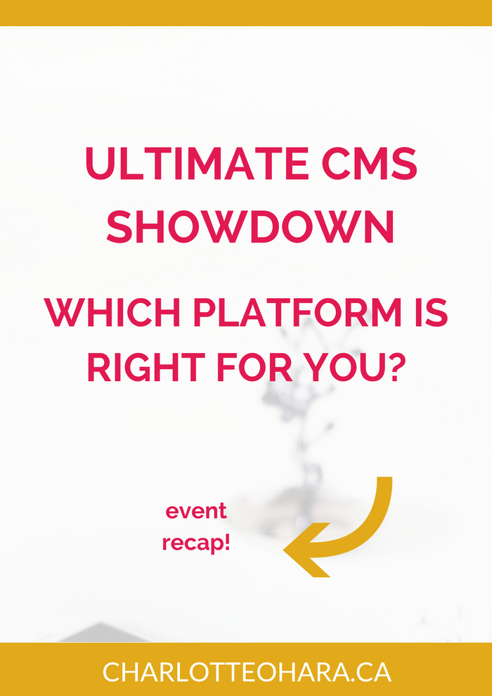 Ultimate CMS Showdown