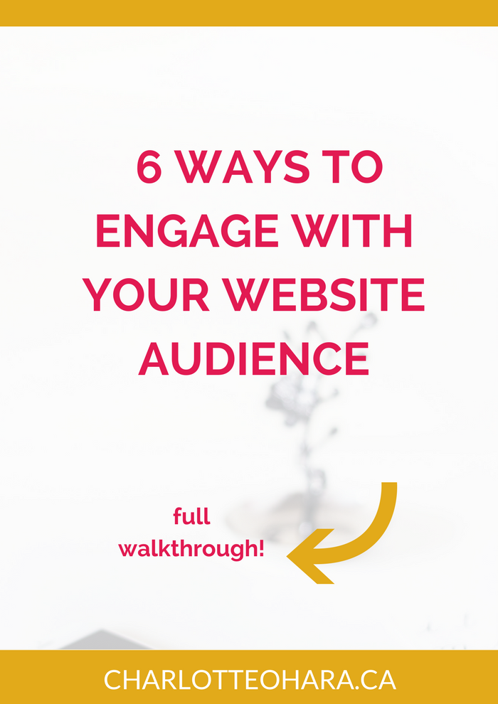 6 ways to engage with your audience online
