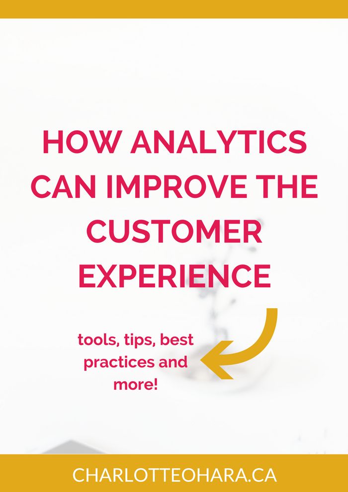 How analytics can improve the ecommerce customer experience | victoria greene | victoriaecommerce