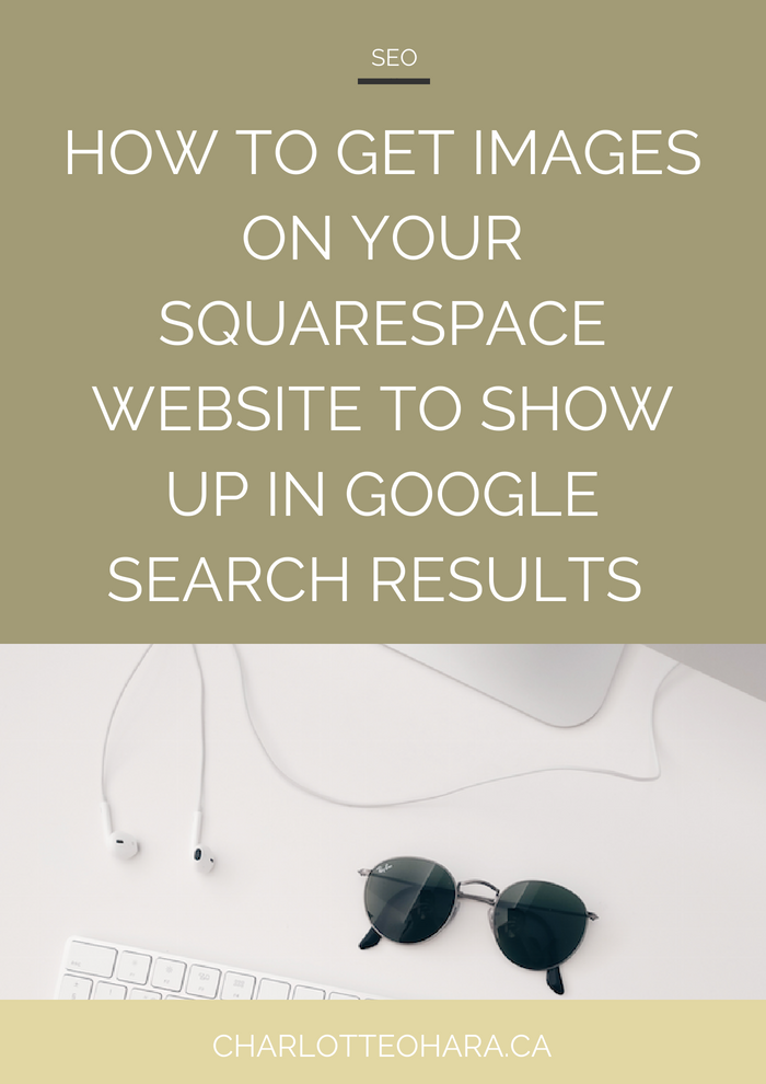 images on Squarespace website show up in Google image search results | Squarespace SEO Series