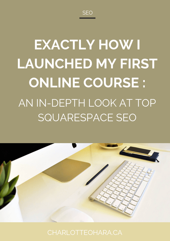 Top Squarespace SEO | Online Course Launch & Recap