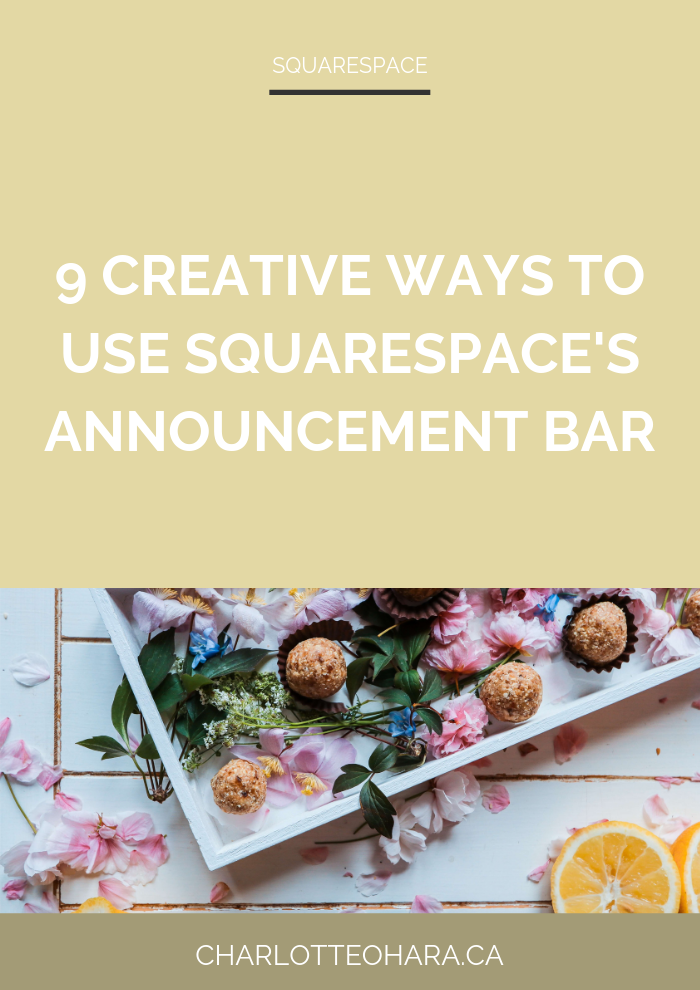 9 creative ways to use squarespace announcement bar.png