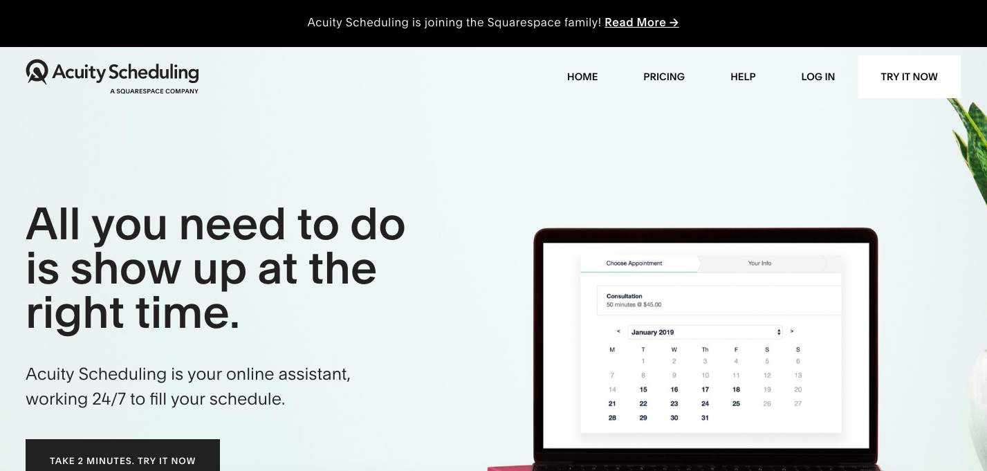 Acuity Scheduling | Squarespace feature and integration