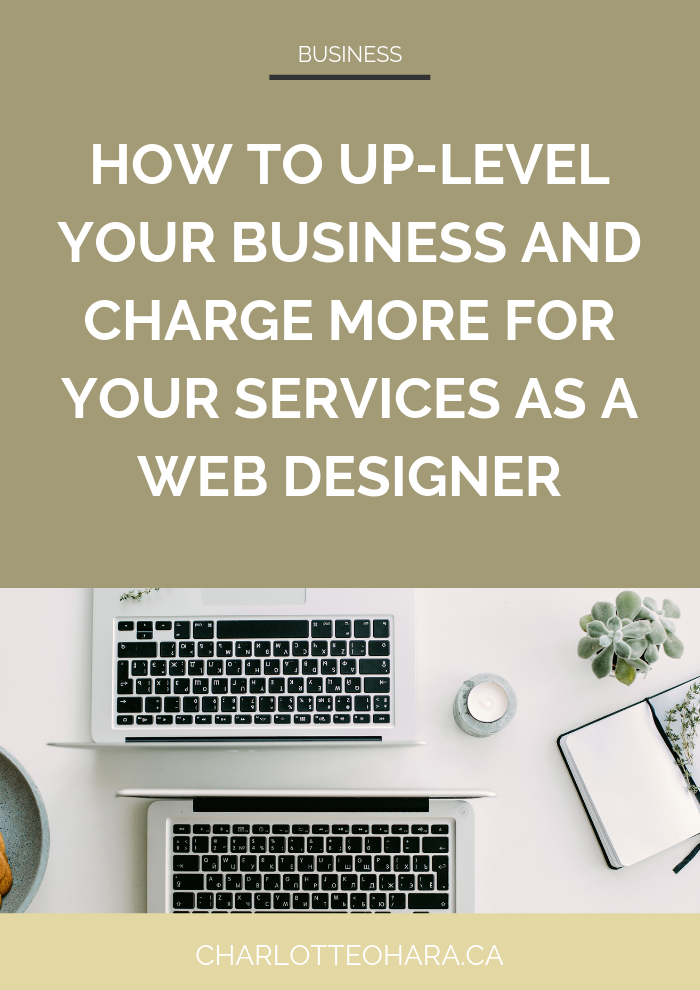 How to up-level your business and charge more for your services as a web designer | Top squarespace SEO online course