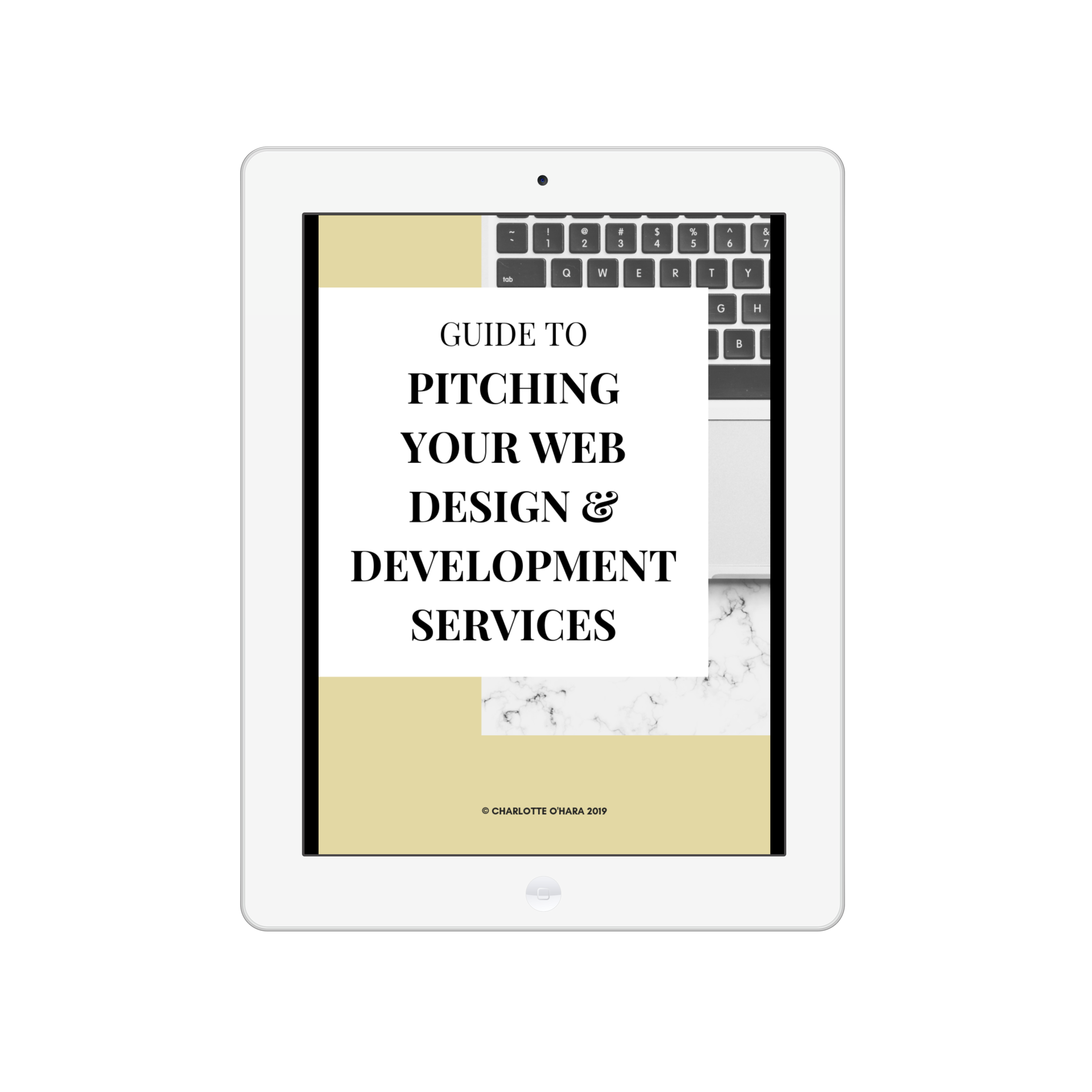 Guide to pitching your web design & development services | digital product | how to guide, email pitch templates, spreadsheet tracker