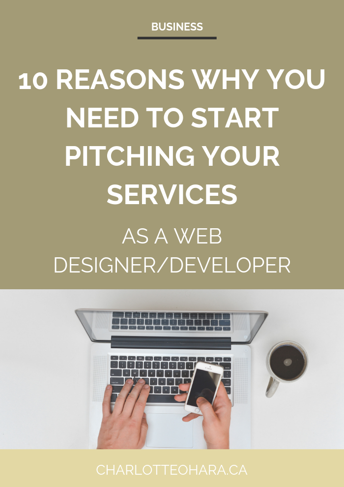 10 reasons why you need to pitch your web design & development services