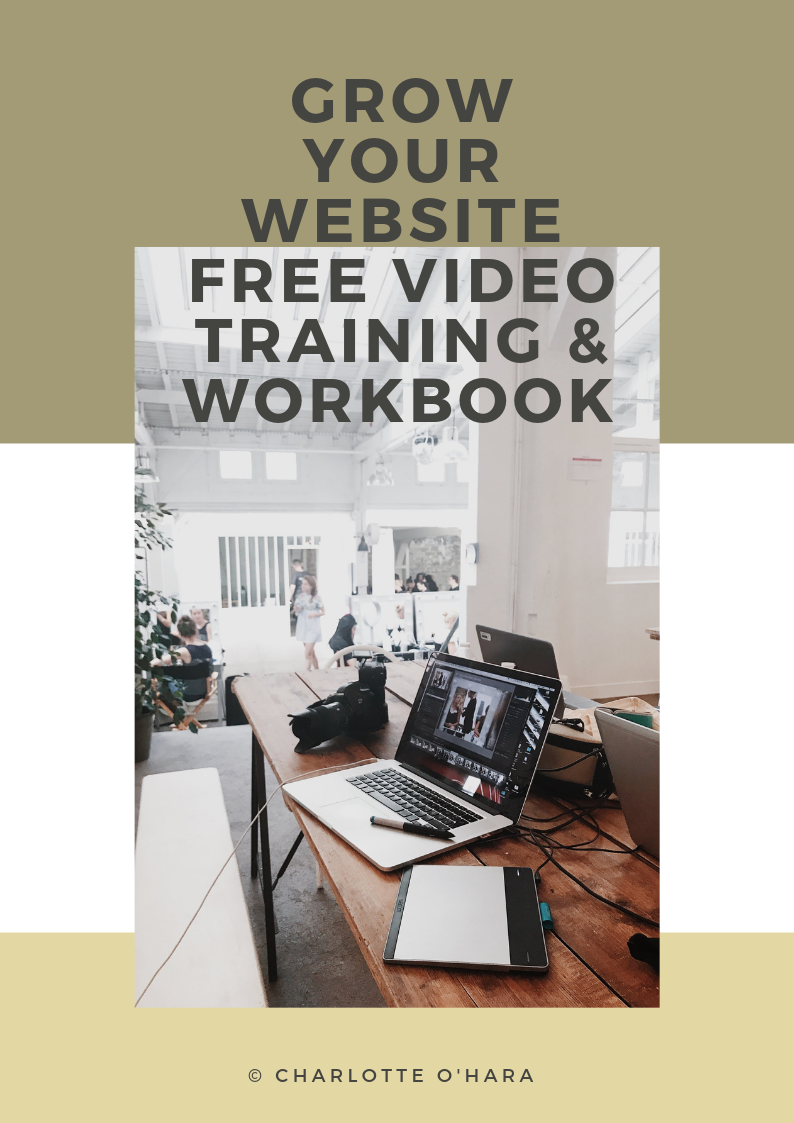 5 Proven ways to grow your website | free video training and workbook