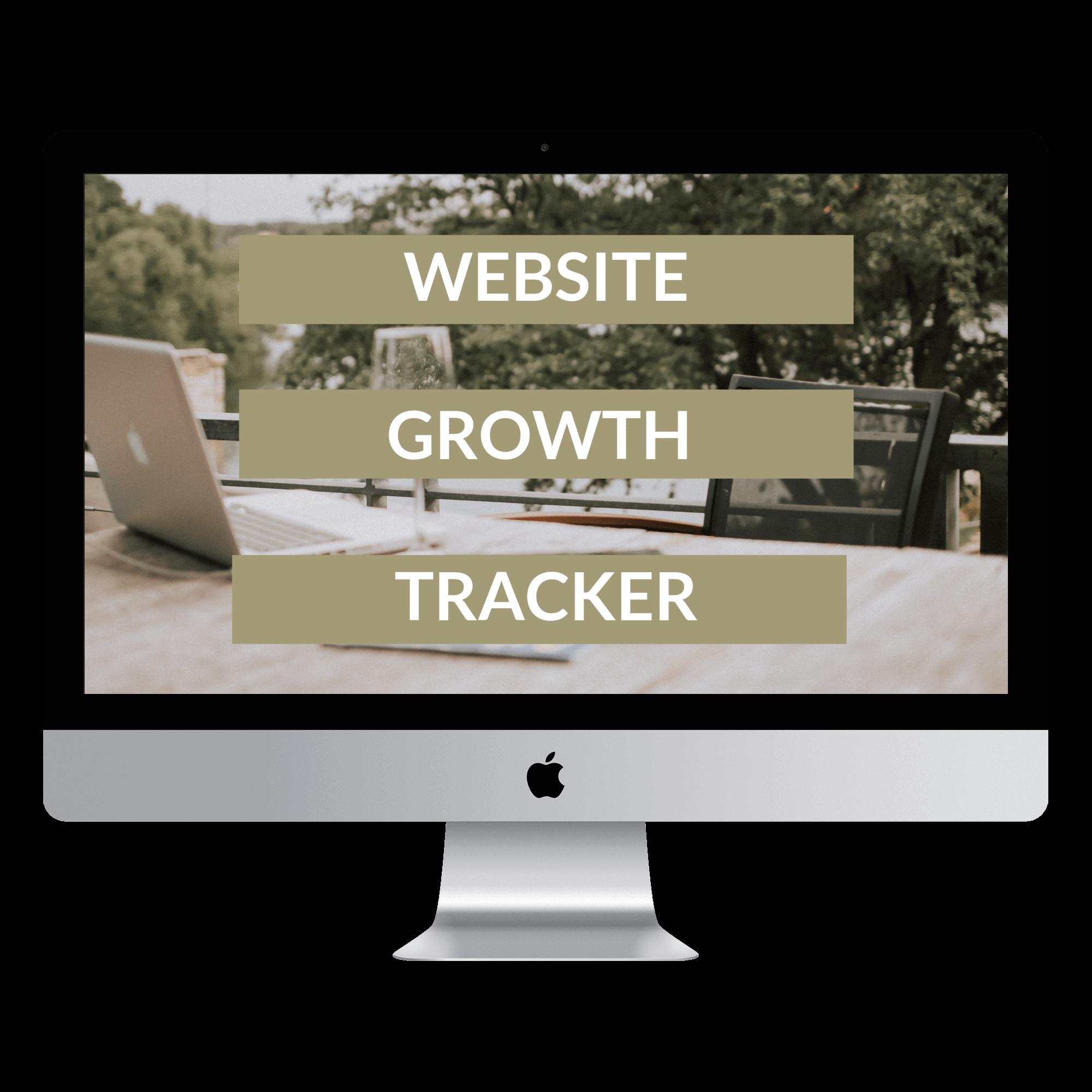 Website Growth Tracker 2019