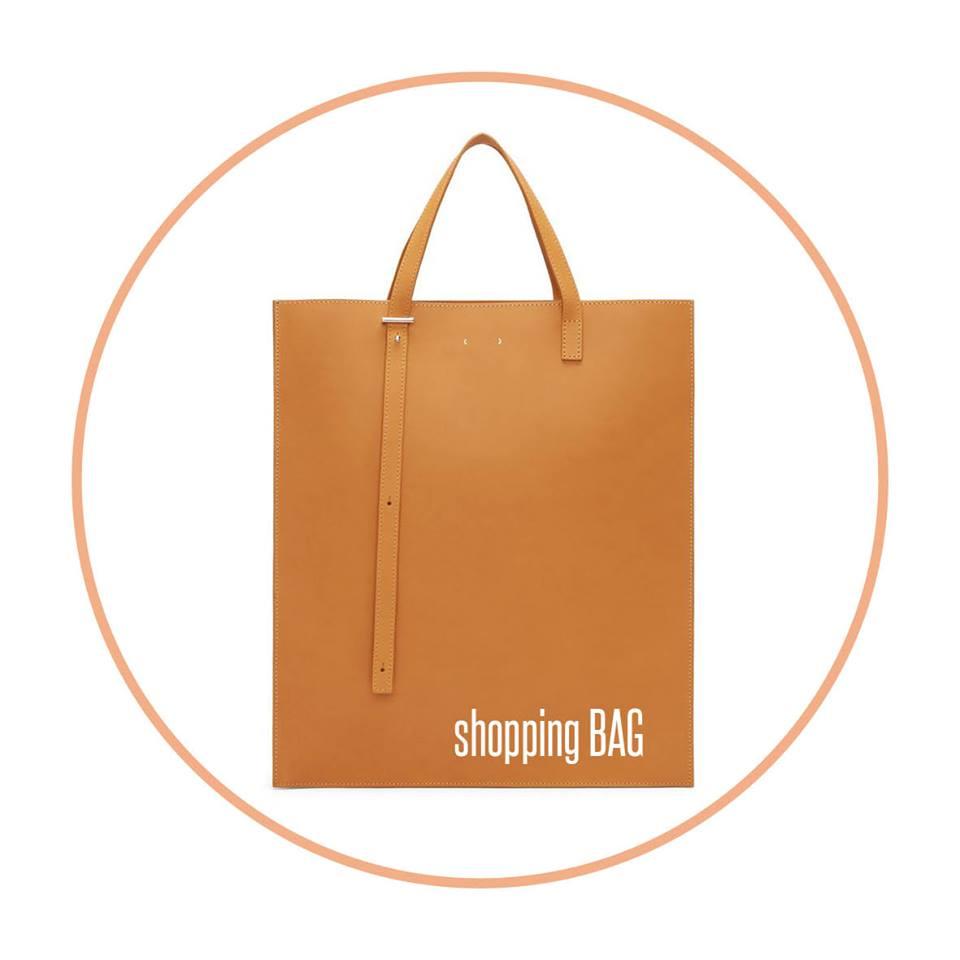SHOPPING BAG - WORKSHOP SHOPPING BAGWOENSDAG 4/11/18/25 OKTOBER