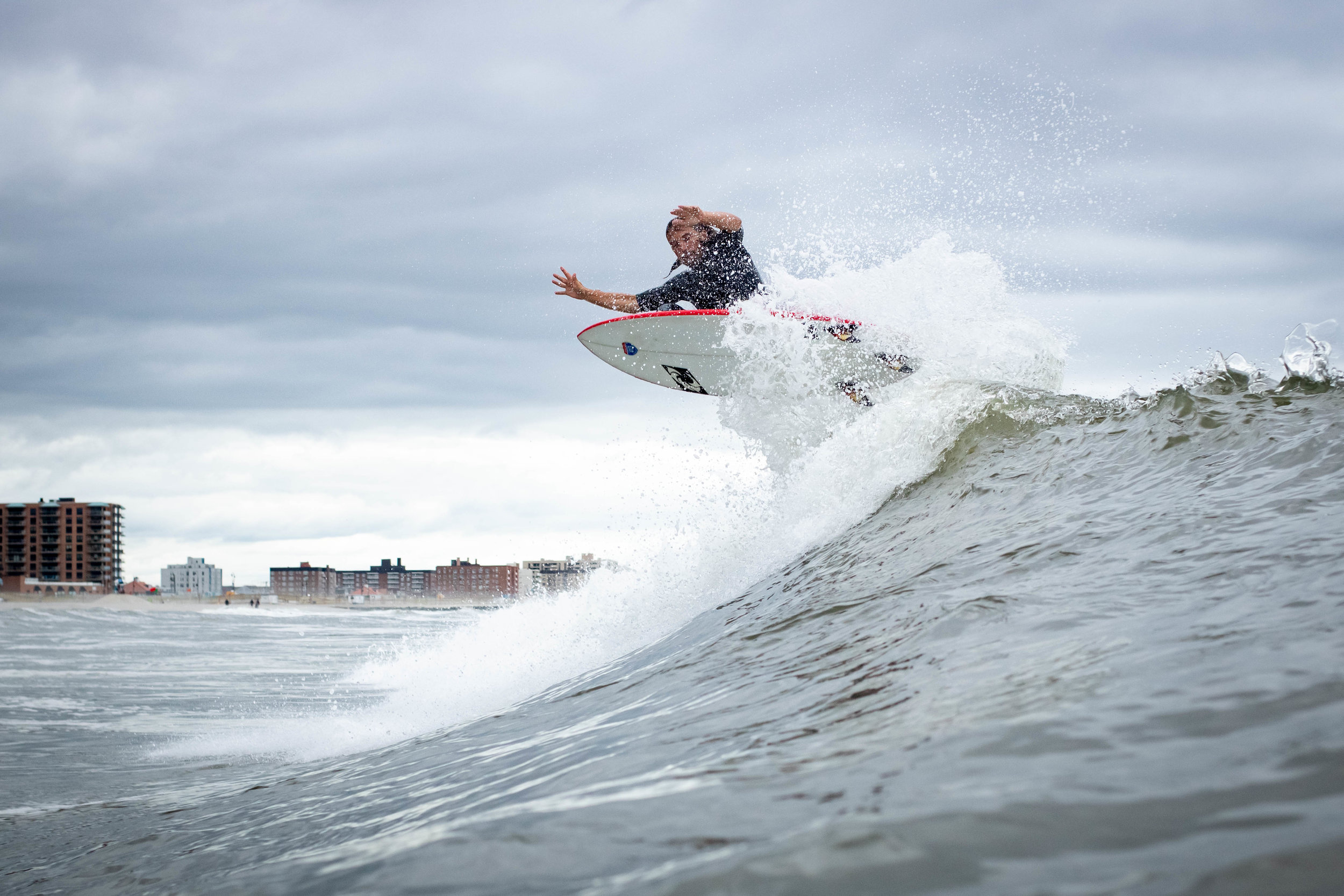 TJ Gumiela rides for  Unsound Surf Shop  in Long Beach. Air series.