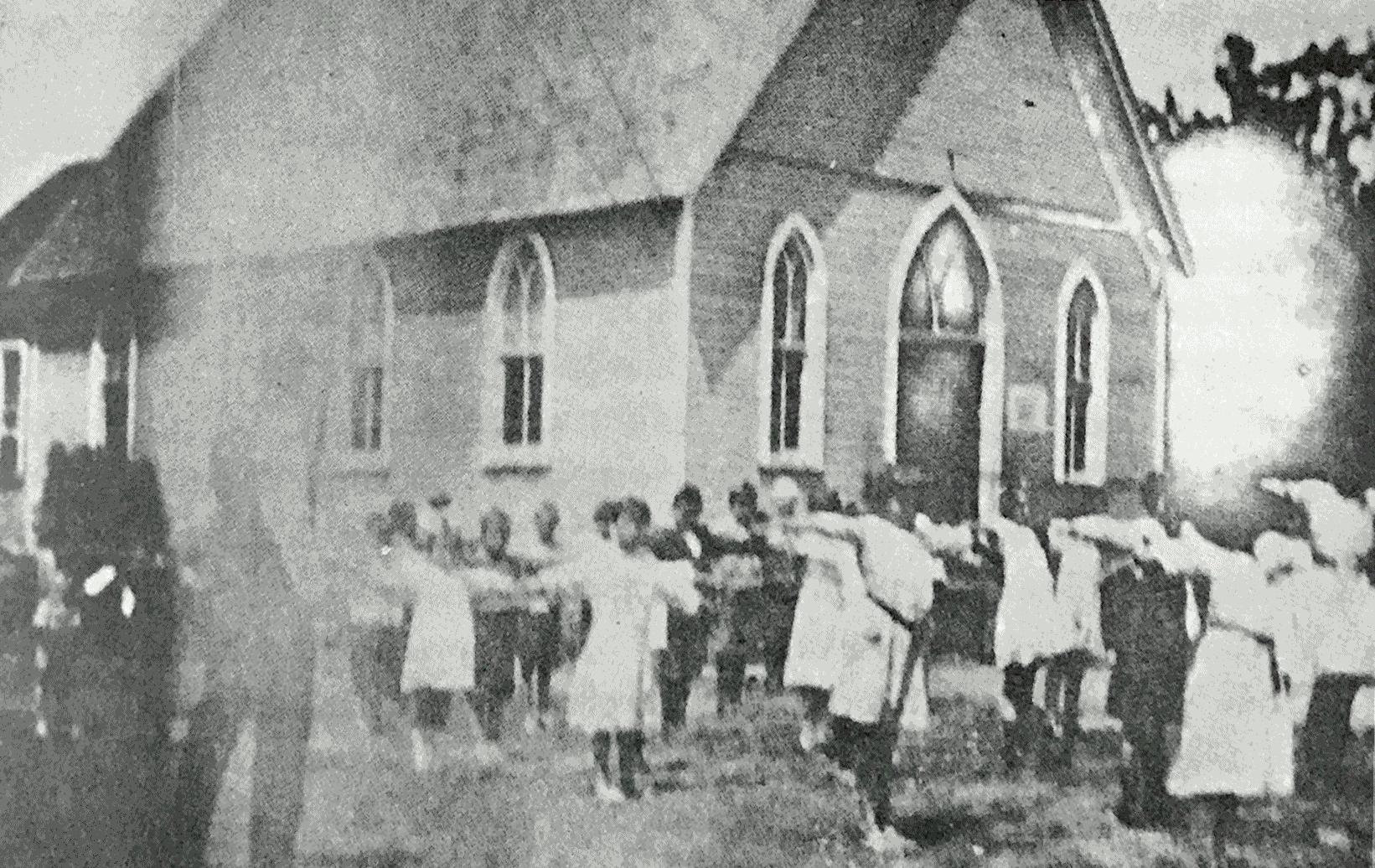 The Barcroft School, 1921. Calisthenics for Pupils.