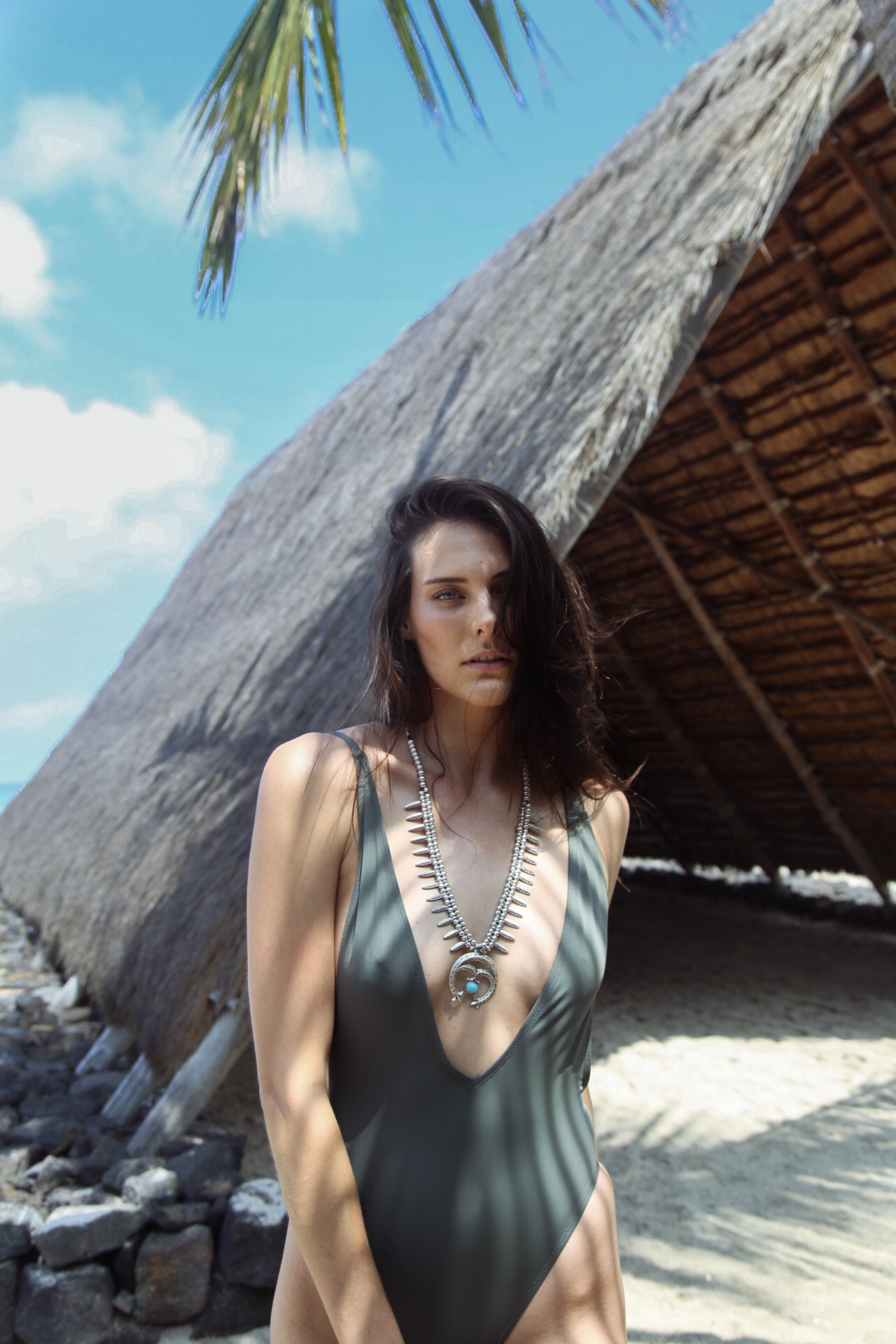 Swimsuit: Dippin' Daisies // Jewelry: Natalie B Jewelry