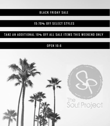 THE SOUL PROJECT Black Friday