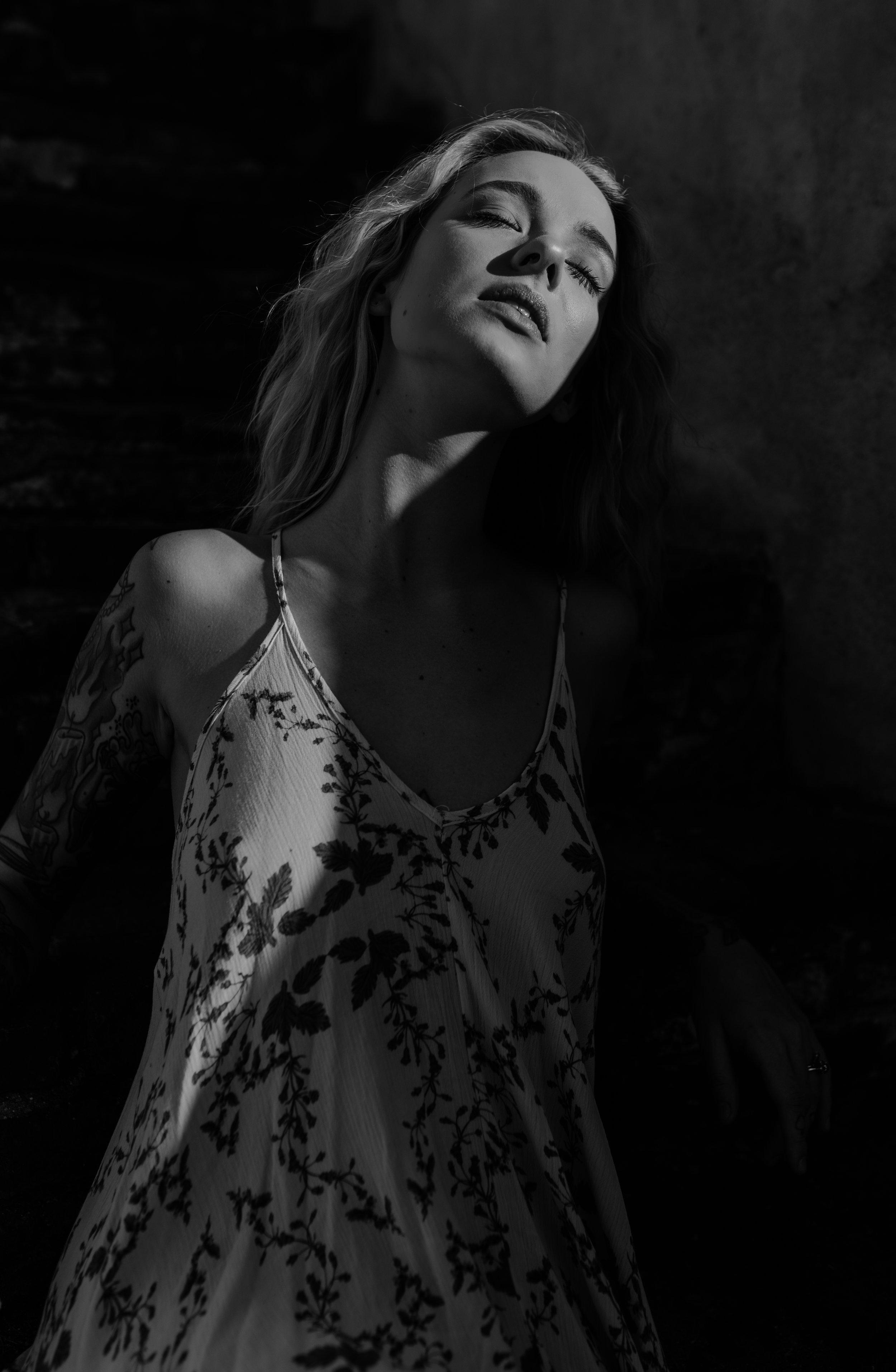 Matison Card (model), Christian Acosta (photographer), Krysta Morehouse (makeup)