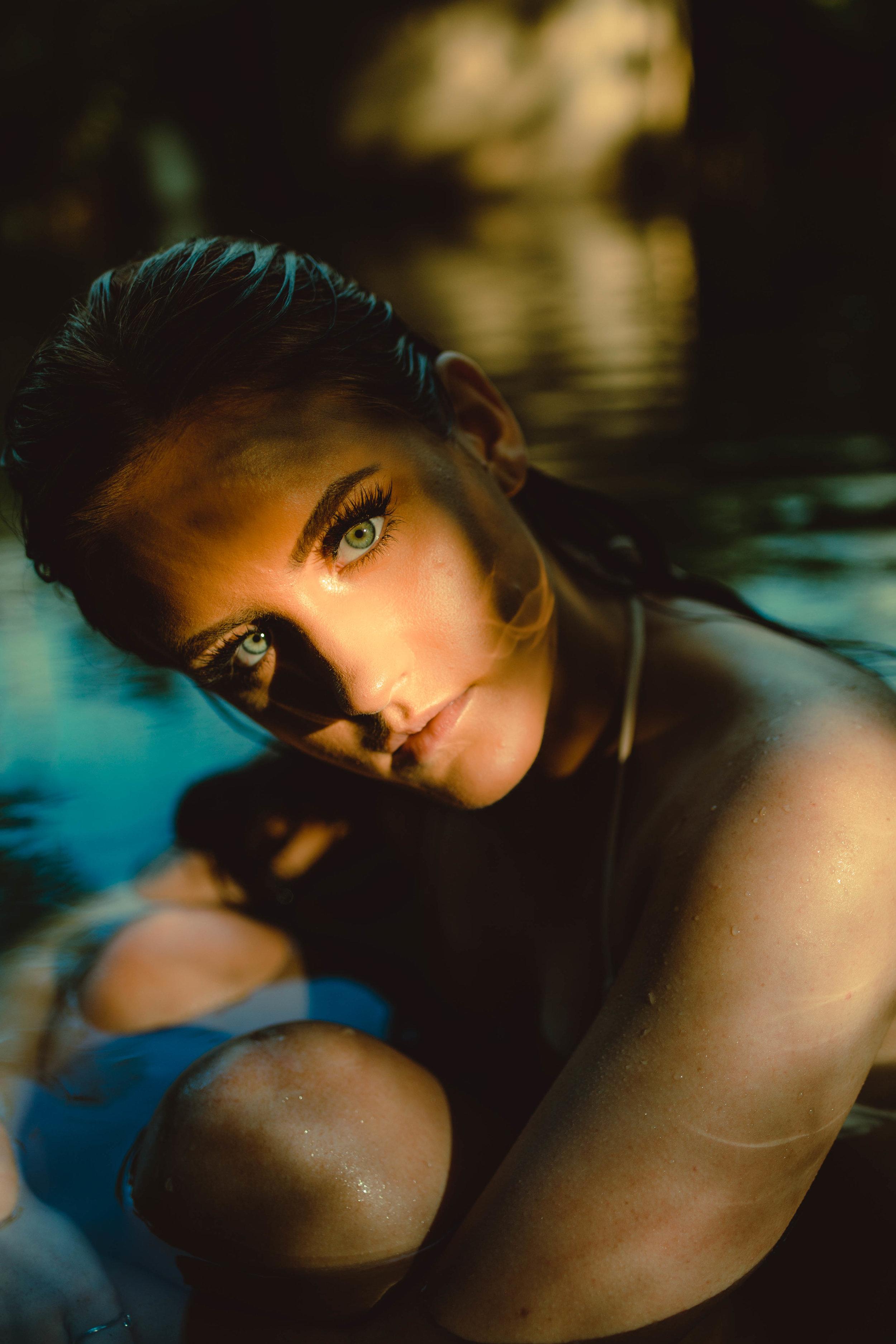 Model: Carolyn Frisch  Photographer: Lexi Brown