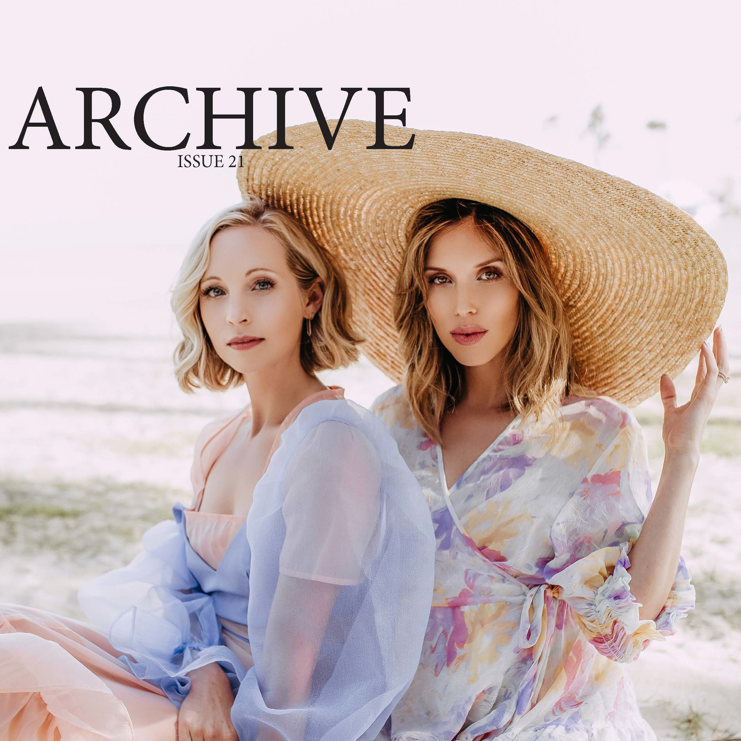 archive the mag Candice king Kayla Ewell