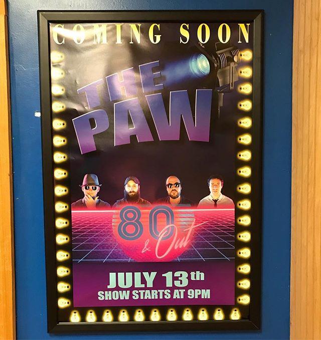 Tonight! Quapaw Casino. 9-1AM. Three casinos in three nights!