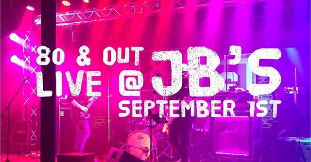 Hey don't miss out. We are playing @jbsdowntown this Saturday! 9-12AM