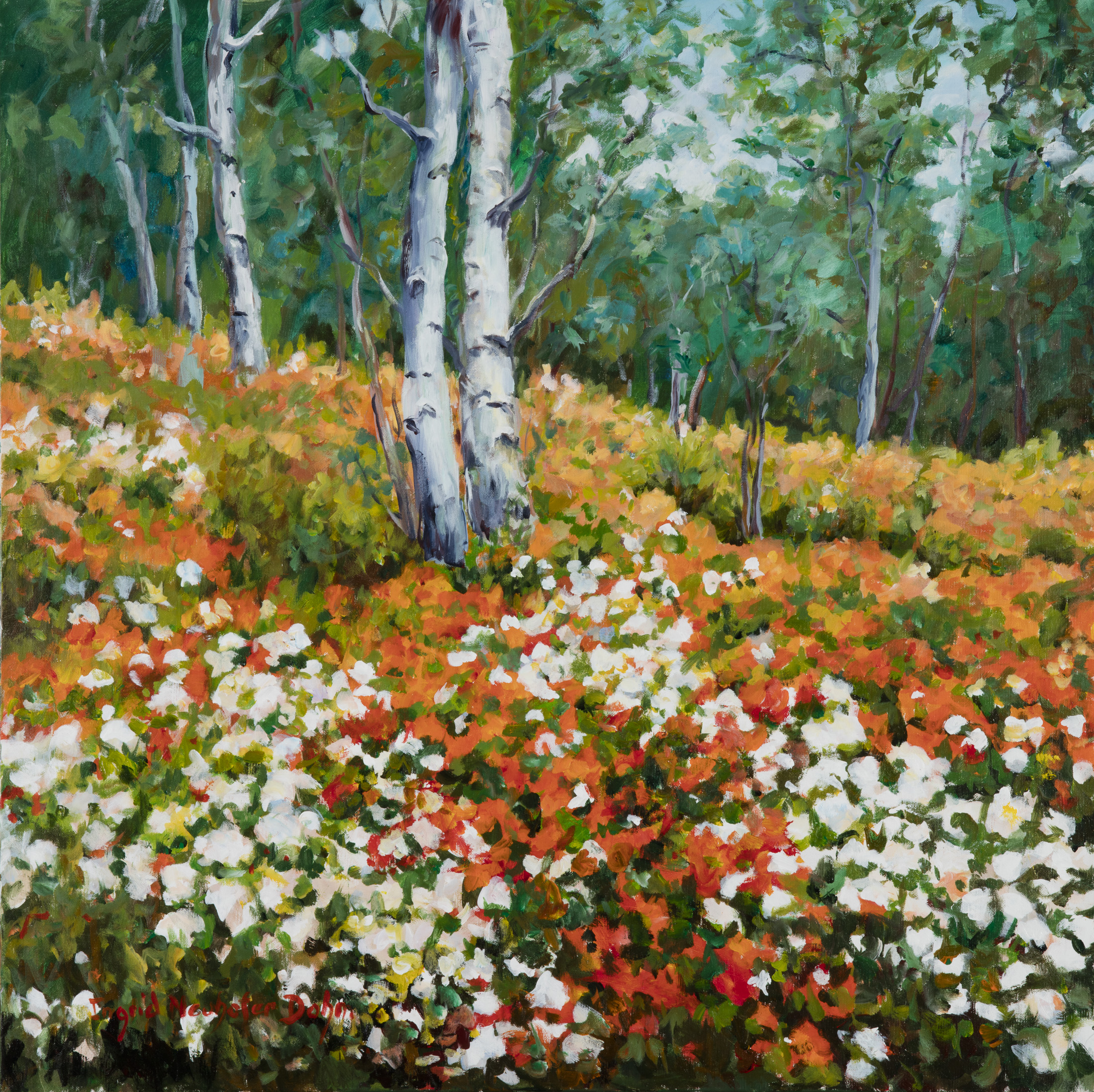 Flowered Forest