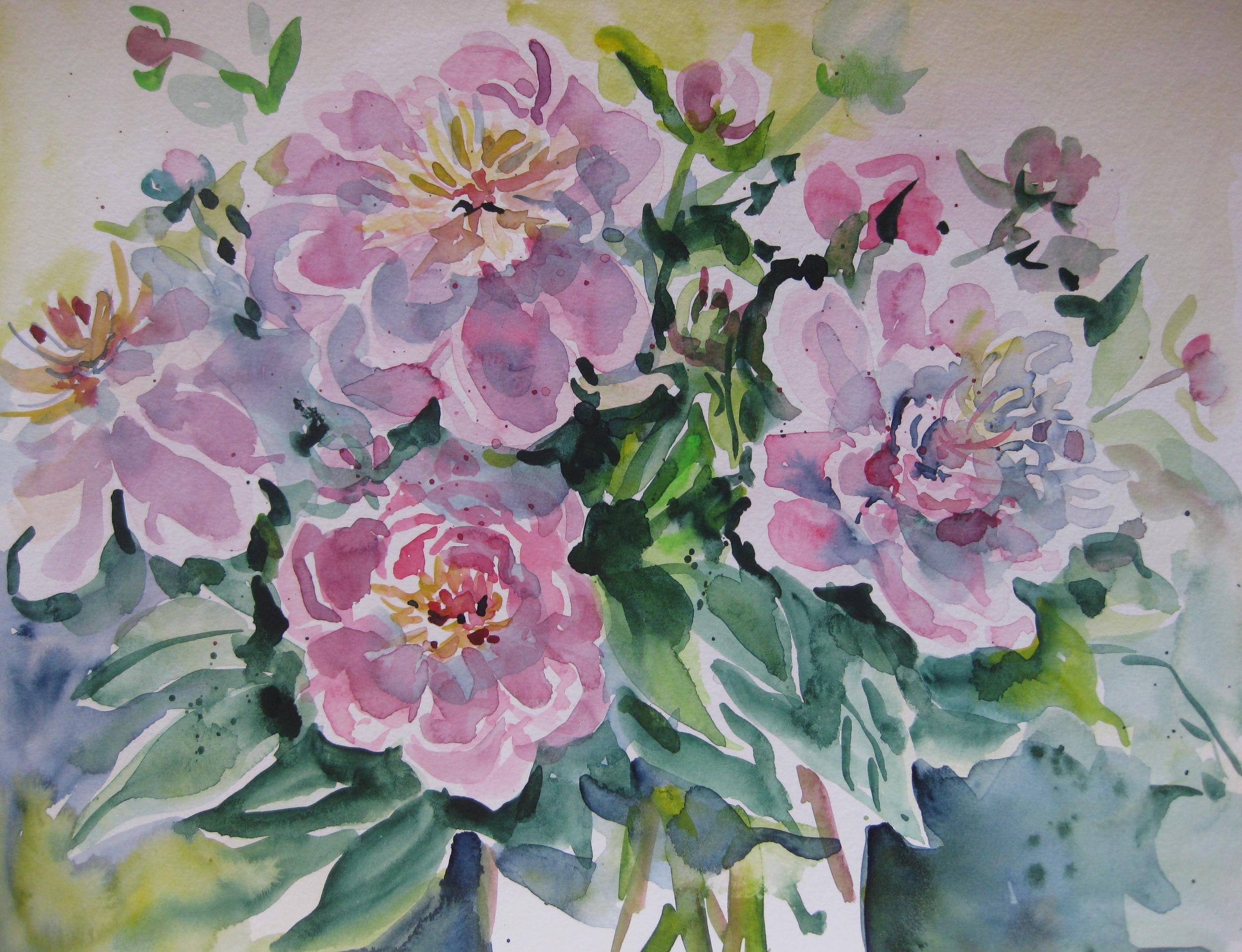 Watercolor Study II
