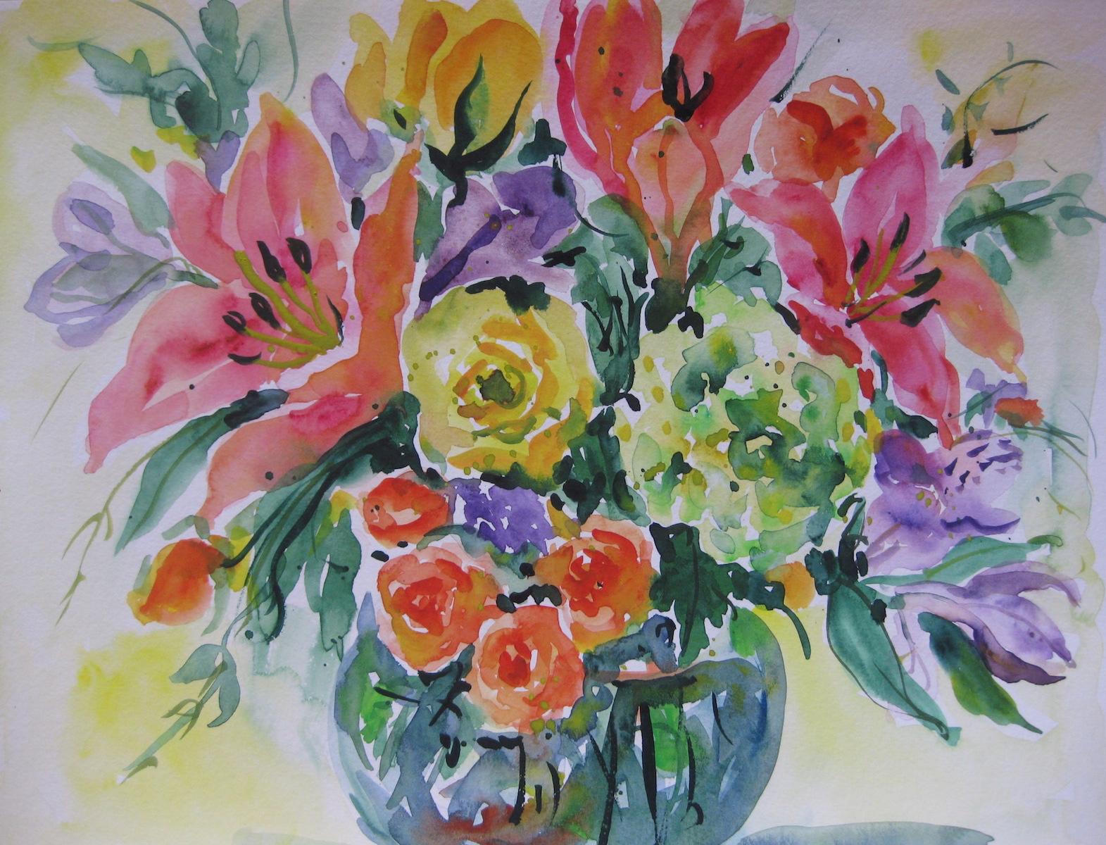 Watercolor Study III