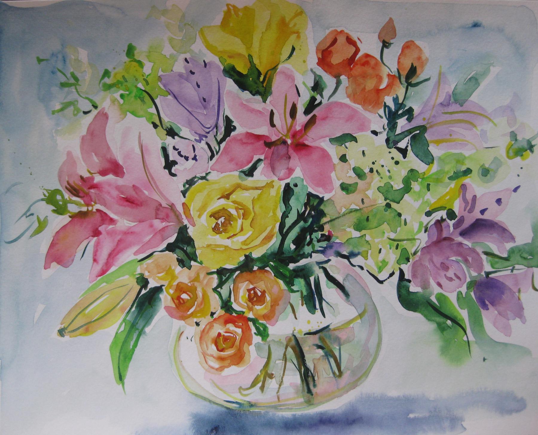 Watercolor Study IV